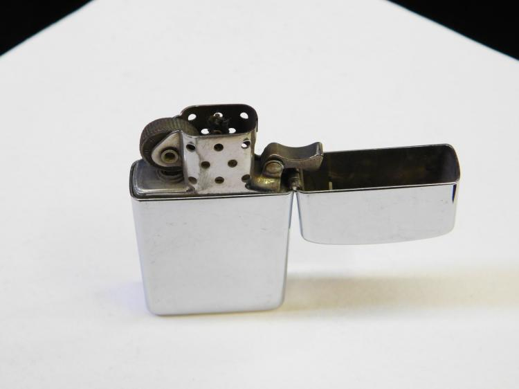 Lot 4: Zippo Slim United States Navy Naval Training Command Great Lakes Lighter