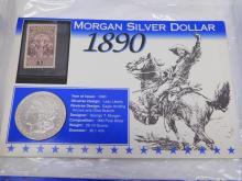 Lot 13: 1890-O Morgan Silver Dollar Us 90% Coin