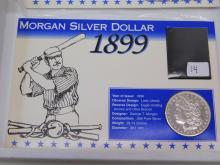 Lot 14: 1899-O Morgan Silver Dollar Us 90% Coin