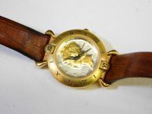 Lot 41: Botania Ladies Wrist Watch With 1944 Mercury Dime Style Face
