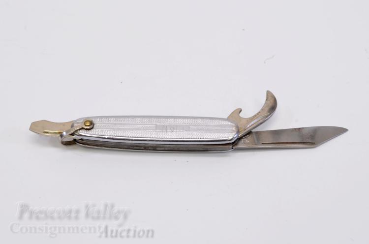 Lot 33: Vintage Richards Sheffield England Three Blade Folding Pocket Knife