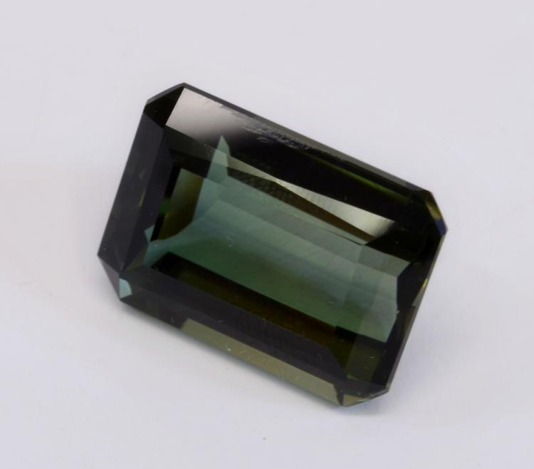 41 Carat Huge Faceted Green Amethyst Quartz Gem Stone For Jewelry Making