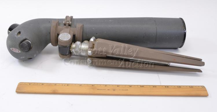 Lot 152: Vintage Bushnell Spacemaster Triple Tested 25X Spotting Scope with Tripod