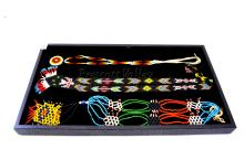 Lot 162: Lot of 3 Native American Indian Hand Crafted Seed Bead Necklaces
