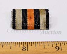 Lot 173: WWI German Hindenburg Medal Single Ribbon Bar Marked DRP