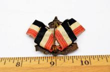 Lot 174: WWI German Empire Combatants League Pin Back Badge Marked Heinr. Timm