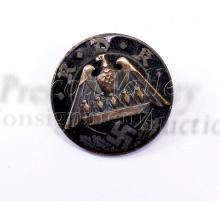 Lot 179: Nazi German RDK Federation of Large Families Pin Back Badge Marked Ges Gesch