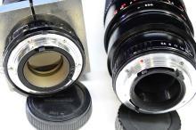 Lot 99: Lot of 2 Samyang 100-500mm and Soligor 85-300mm Camera Lenses