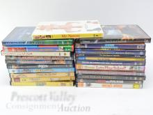 Lot 21: Lot of 22 Comedy and Family DVD Movies Including The Polar Express and Austin Powers