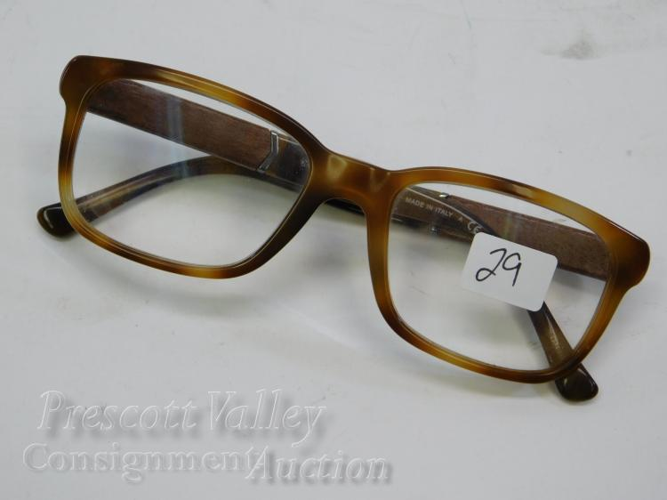 Burberry B2149 Wood and Tortoise Shell Prescription Glasses