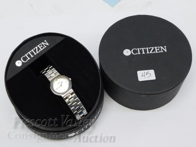 Citizen 1032-S93681 Stainless Steel Wrist Watch in Box