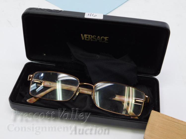 Versace Mod 1120 Designer Prescription Glasses and Case