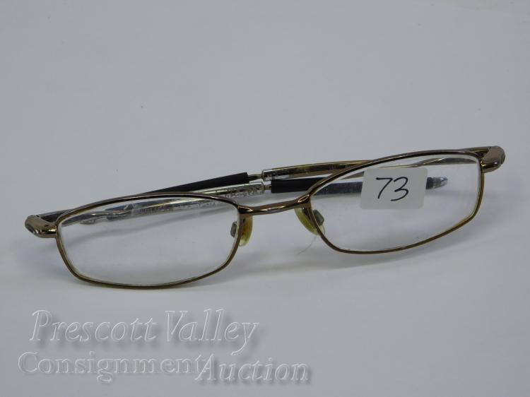 Oakley Kickstand 4.0 Brown Chrome Prescription Glasses