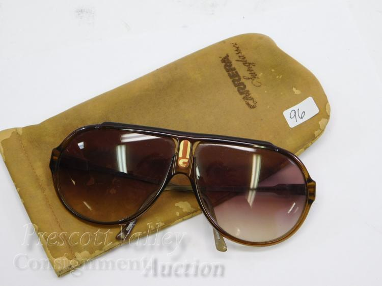 Vintage Carrera Model 5565 Aviator Sunglasses with Case