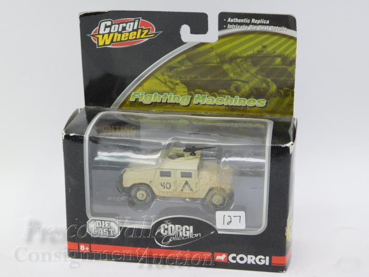 Corgi Wheelz Fighting Machines Collection Die Cast HMMWV Military Humvee