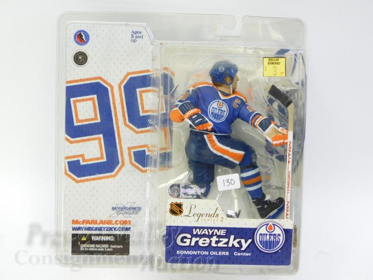 McFarlane Toys NHL Legends Series 2 Wayne Gretzky Edmonton Oilers Figurine in Package