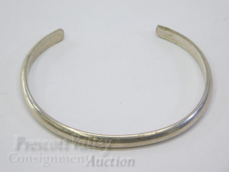 10.6 Gram Navajo Sterling Silver Cuff Bracelet