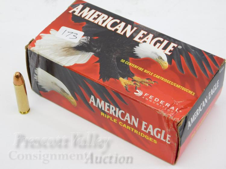 Federal Ammunition American Eagle 30 Carbine 110 Gr FMJ Box of 50 Rifle Rounds