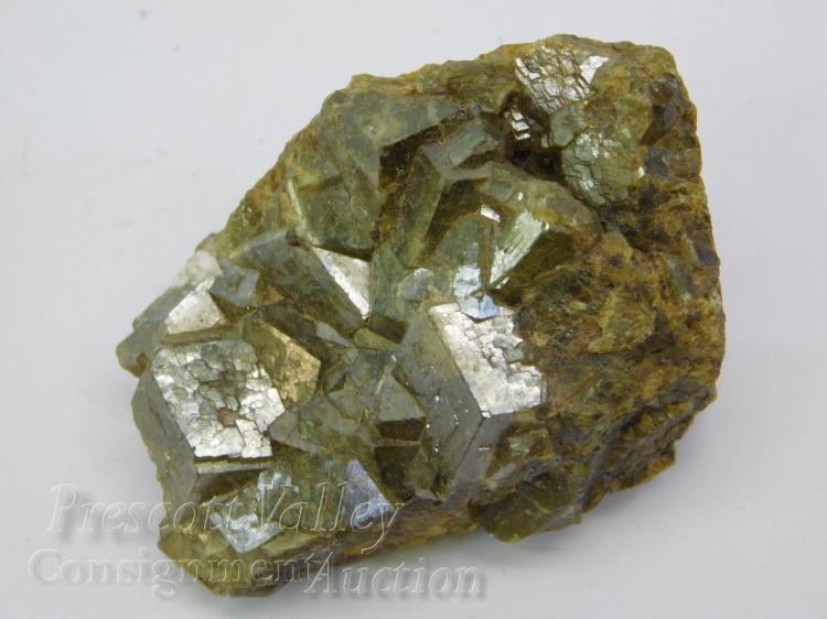 Orbicular Garnet Rock Specimen