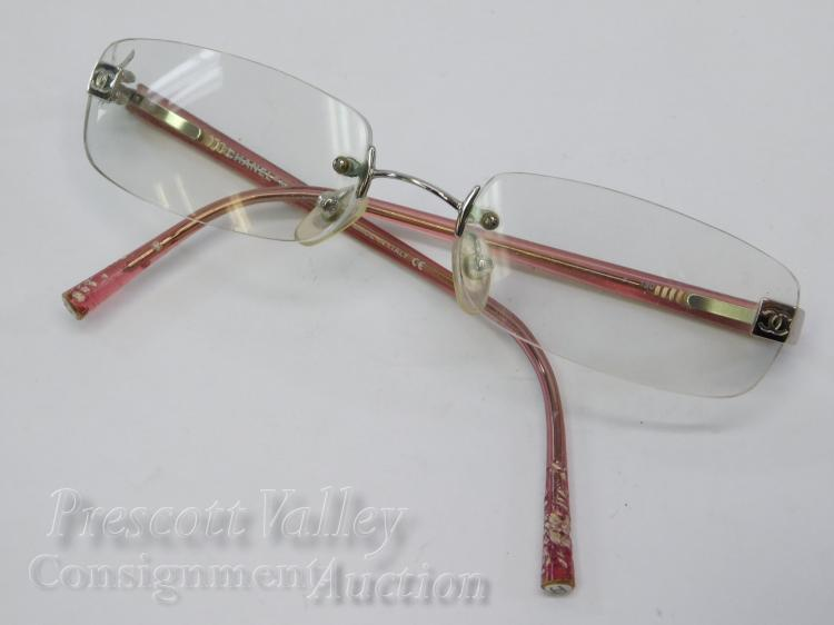 Chanel L294/909 Rimless Prescription Glasses