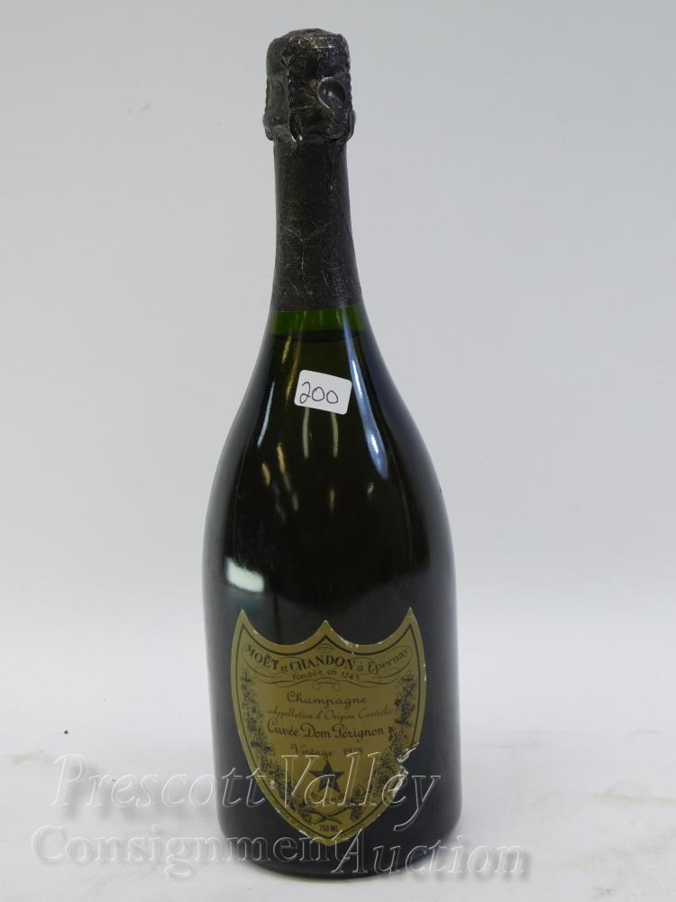 Sealed 1978 Dom Perignon Champagne Bottle