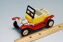 Lot 2: Vintage Japan Tin Toy Model T Dragster