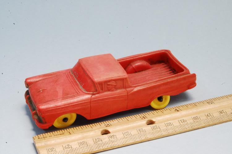 Vintage Auburn Rubber Ranchero? Elcamino? Toy Car