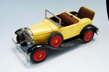 Lot 4: Vintage Hubley Diecast Built Model Ford With Rumble Seat