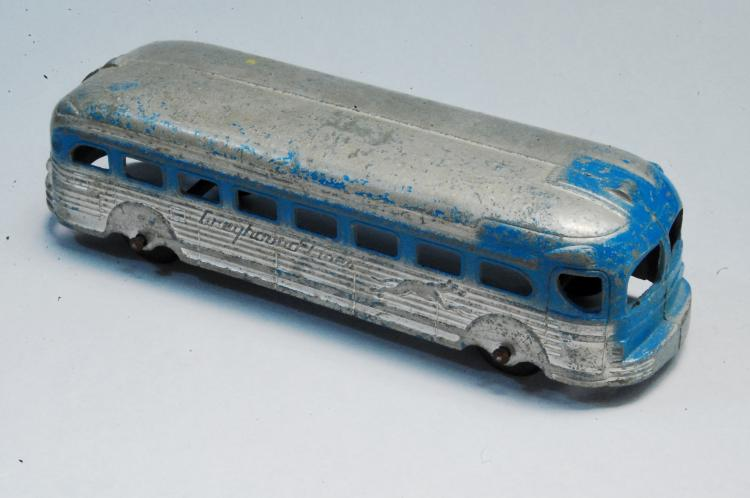 1950s Diecast Greyhound Bus Toy