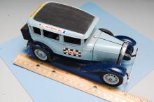 Lot 11: Vintage Hubley Diecast Built Model Ford Taxi