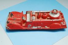 Lot 12: Vintage Auburn Rubber Fire Truck Toy