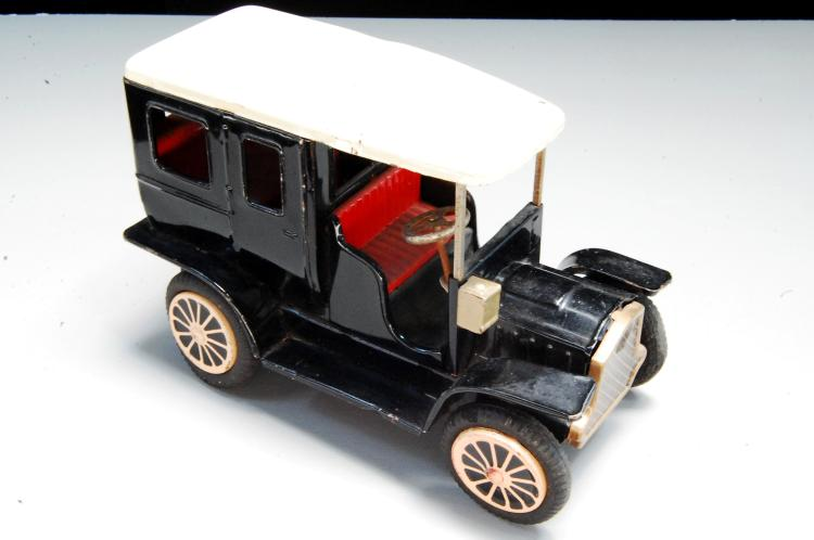 Vintage Japan Friction Tin Toy Model T