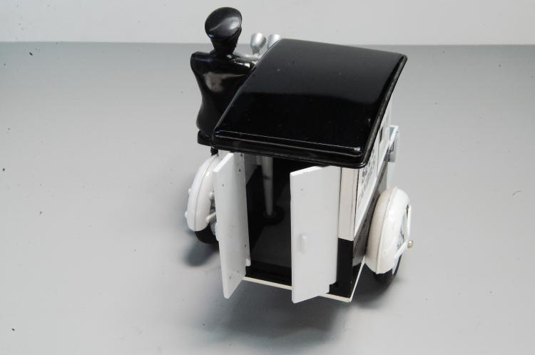 Lot 17: Modern Sees Candy Motorcycle Delivery Cart