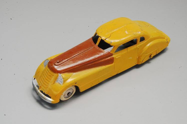 Antique Tootsie Toy Diecast Long Nosed Car