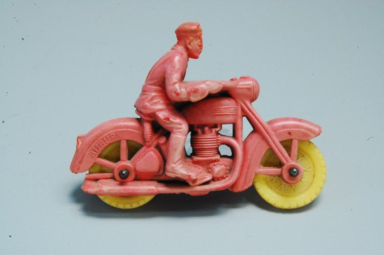 Antique Auburn Rubber Co Harley Davidson Motorcycle