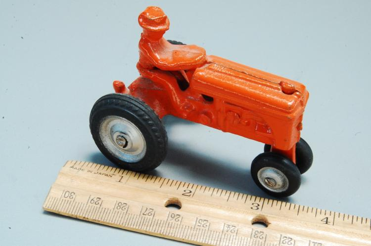 Lot 24: Antique Restored Cast Iron Arcade Tractor