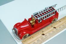 Lot 36: Antique Restored Tootsie Toy Fire Truck