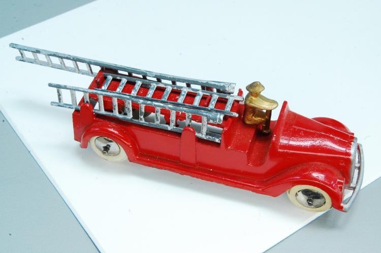 Antique Restored Tootsie Toy Fire Truck