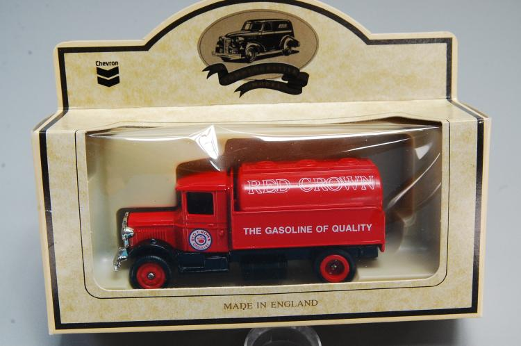 Chevron Days Gone Red Crown Gasoline 1934 Mack Tanker