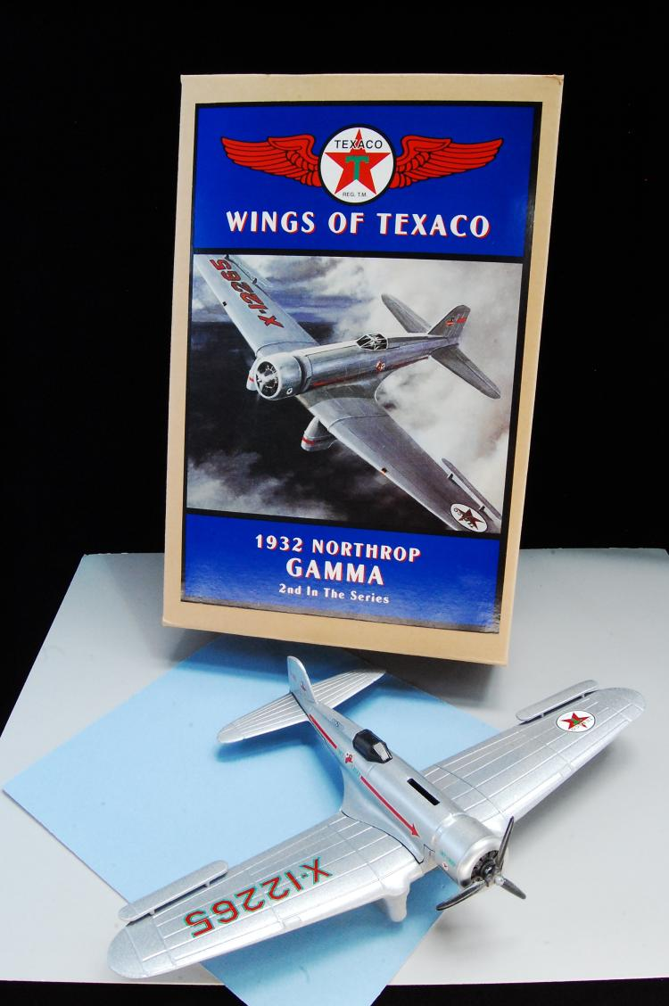 Wings Of Texaco 1932 Northrop Gamma 2nd Airplane B