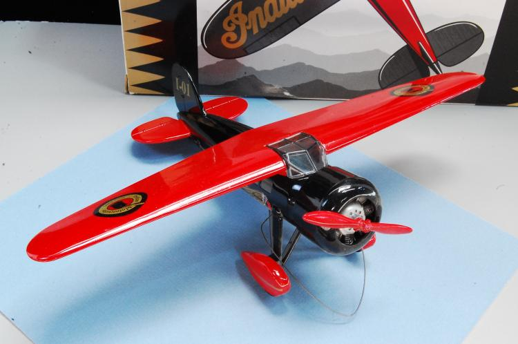 Lot 49: Indian Motorcycles Travel Airplane Bank 2nd in Series