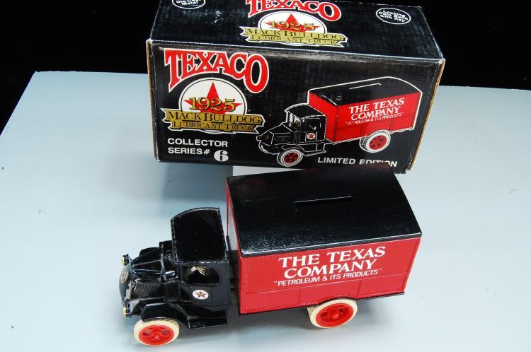 Lot 54: 1989 Ertl Texaco 1925 Mack Bulldog Lubricant Truck