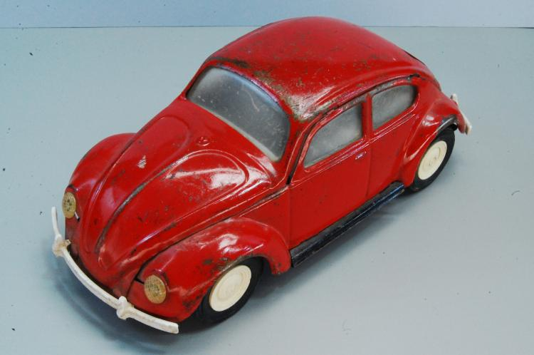 Vintage Tonka Pressed Steel Volkswagon VW Beetle