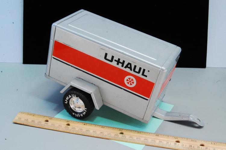 Lot 83: Vintage Nylint Uhaul Car or Truck Trailer
