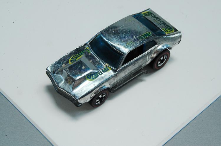 Lot 106: Vintage Hotwheels Redline Super Chromes Mighty Mav