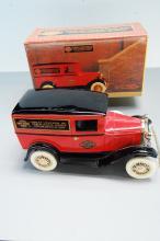 Lot 110: 1993 Harlet Davidson 1931 Ford panel Delivery Bank