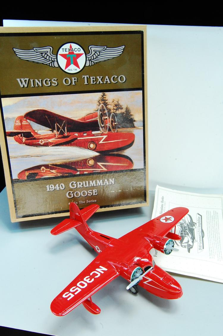 1996 Wings of Texaco Ertl 1940 Grumman Goose Airpl