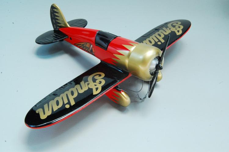 Lot 117: 1992 Spec Cast Indian Motorcycles Vintage Airplane
