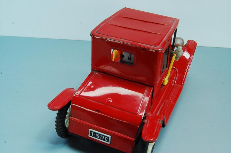 Lot 134: Vintage Japan Tin Toy Litho Friction 1917 Ford Mod
