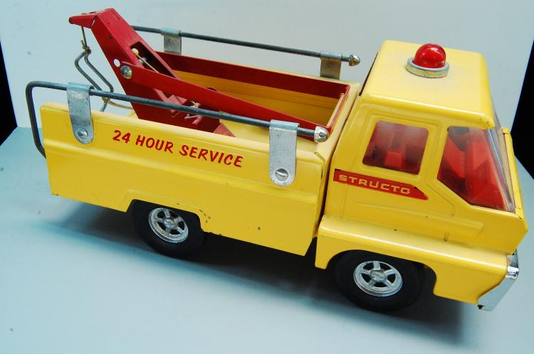 1966 Structo 24 Hour Pressed Steel Service Tow Tru
